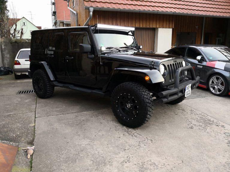Jeep Wrangler mieten