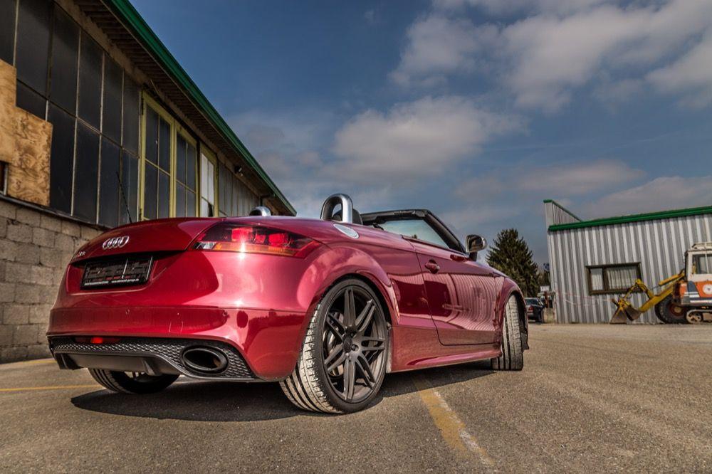 Audi TT RS Cabrio jetzt mieten